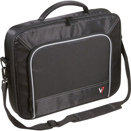 "V7 Professional CCP2-9N Carrying Case for 17"" Notebook - Black, Gray"