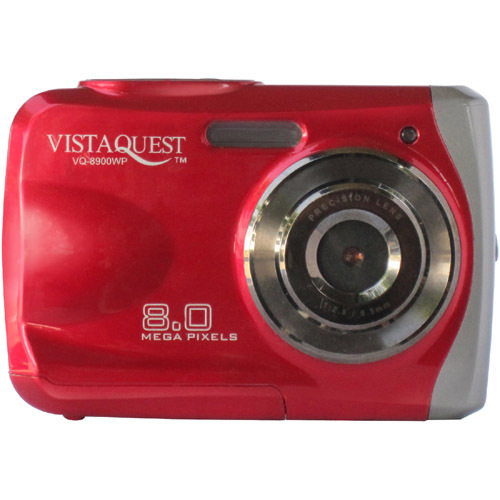 VistaQuest VQ8900 8 Megapixel Compact Camera - Blue