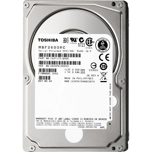 Toshiba MBF2300RC Hard Drive - 40 Pack