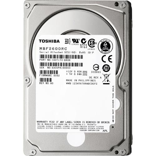 Toshiba MBF2600RC Hard Drive - 40 Pack