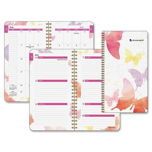 Mead Westvaco Vibrant Watercolors Planner