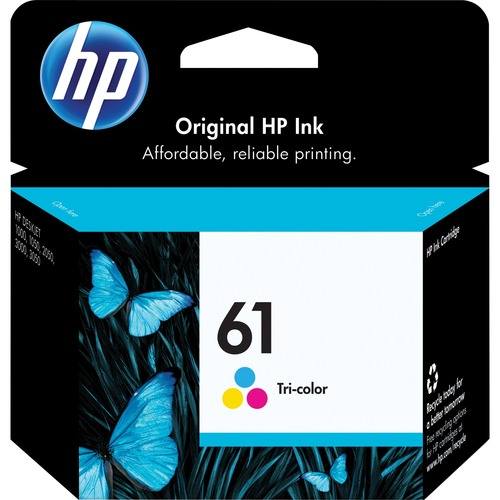HP 61 Ink Cartridge | Cyan, Magenta, Yellow