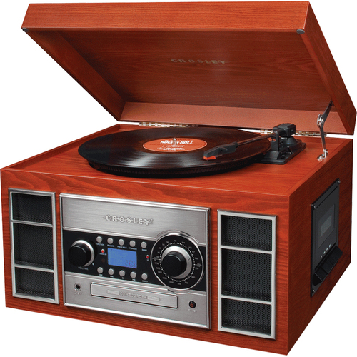Crosley Memory Master CR2413A Record/CD/Cassette Turntable