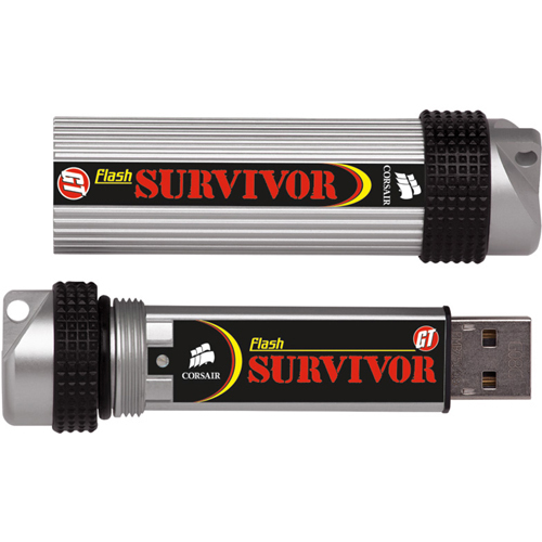 Corsair Survivor GTR CMFSRA64GBGT2 64 GB USB 2.0 Flash Drive