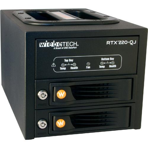 Cru RTX RTX220-QJ Hard Drive Array - 2 x HDD Installed - 4 TB Installed HDD Capacity