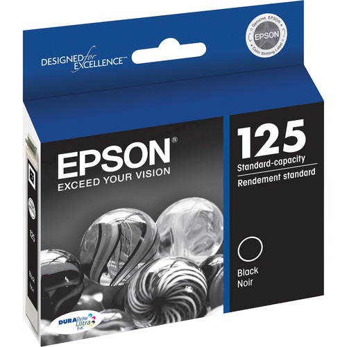 Epson DURABrite Ultra T125120 Standard Capacity Ink Cartridge