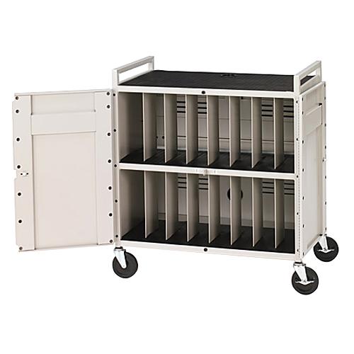Bretford LAPTG15ESA-CTMBT 15-Unit Laptop Cart