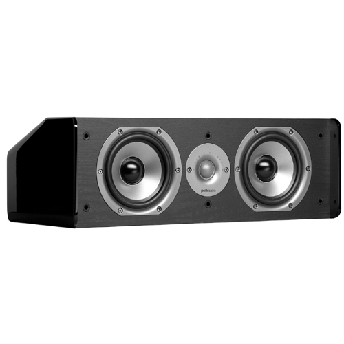 Polk Audio CS10 Speaker - 2-way - Black