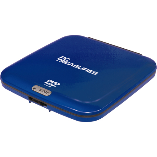 Pc Treasures 07256 DVD-Reader - Navy - External
