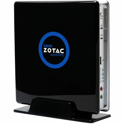 Zotac ZBOX HD-ID11 Desktop Computer - Atom D510 1.66 GHz - Mini PC - Black, White