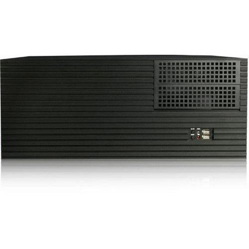 iStarUSA D ValCase System Cabinet - Rack-mountable, Desktop - Black - Metal, Aluminum