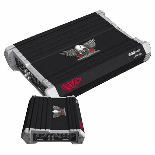 Power Acoustik CRYPT CPT4-1400 Car Amplifier - 1400 W PMPO - 4 Channel - Class AB