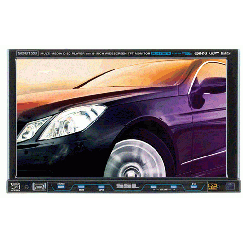Soundstorm SD812B Car DVD Player