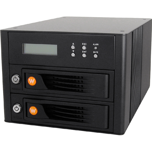 Cru 35220-2536-3200 RTX RTX220-QR Hard Drive Array - 2 x HDD Installed - 4 TB Installed HDD Capacity