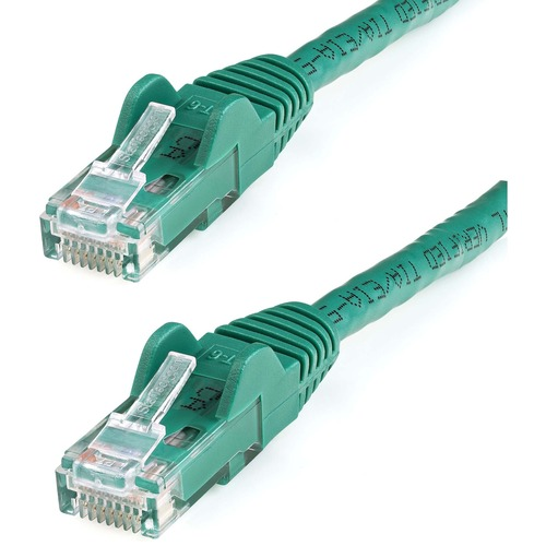 StarTech.com 25 ft Green Snagless Cat6 UTP Patch Cable