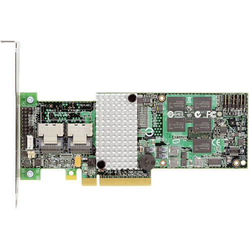 Intel RS2BL080 SAS RAID Controller - Serial ATA/600 Serial Attached SCSI - PCI Express 2.0 x8 - Plug-in Card