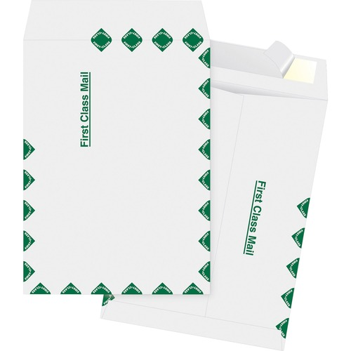 Bus. Source Preprinted First Class Mail Envelopes | by Plexsupply