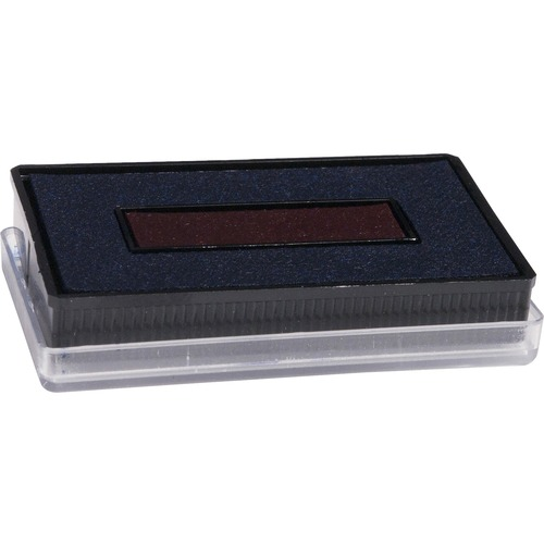 Pad replacement, f/ 40330 date stamp, red/blue, sold as 1 each