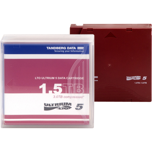Tandberg Data LTO Ultrium 5 Data Cartridge with Barcode Labeling