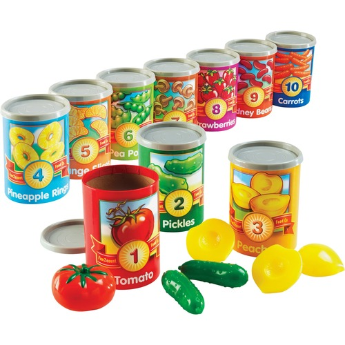 Learning Res. 1-10 Counting Cans Set | by Plexsupply