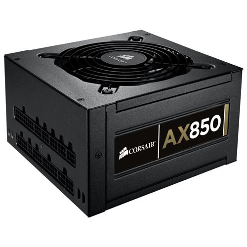 Corsair Memory Professional AX850 ATX12V & EPS12V Power Supply - 90% - 850 W