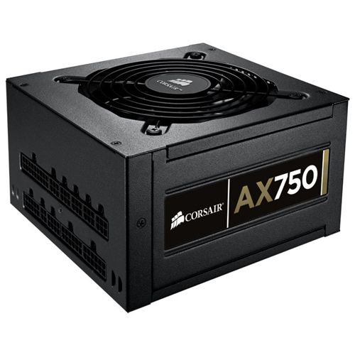 Corsair Memory Professional AX750 ATX12V & EPS12V Power Supply - 90% - 750 W