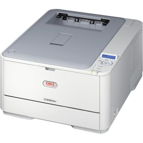 Okidata C330DN LED Printer - Color - Plain Paper Print - Desktop
