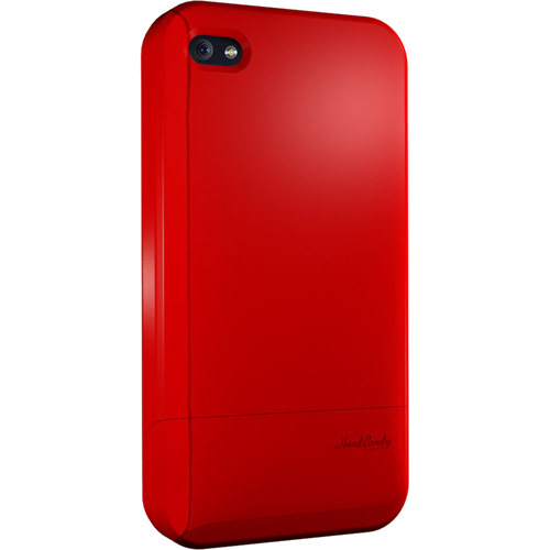 Hard Candy Cases Candy Slider CS4G-SFT-RED Soft Touch Smartphone Skin