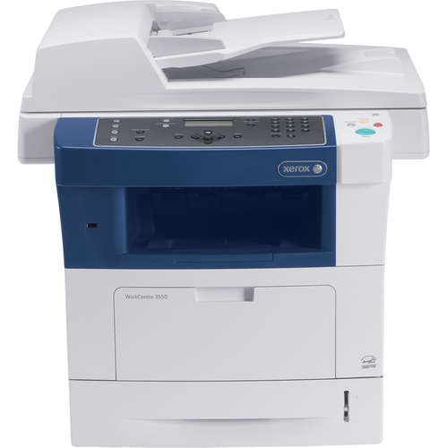Xerox WorkCentre 3550 Laser Multifunction Printer - Monochrome - Plain Paper Print - Desktop