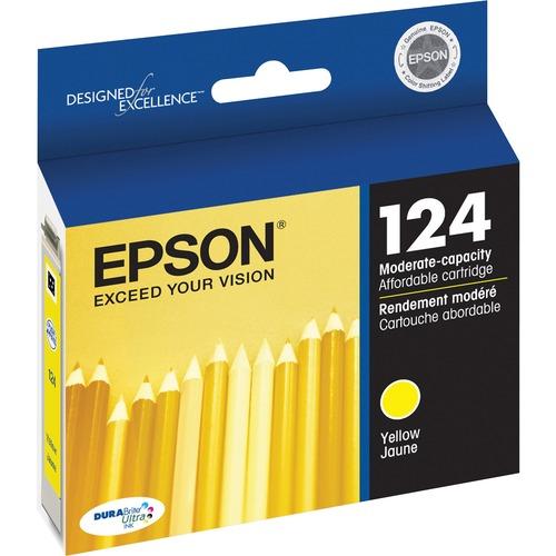 EPSON - SUPPLIES DURABRITE ULTRA MODERATE CAP YELLOW INK CARTRIDGE