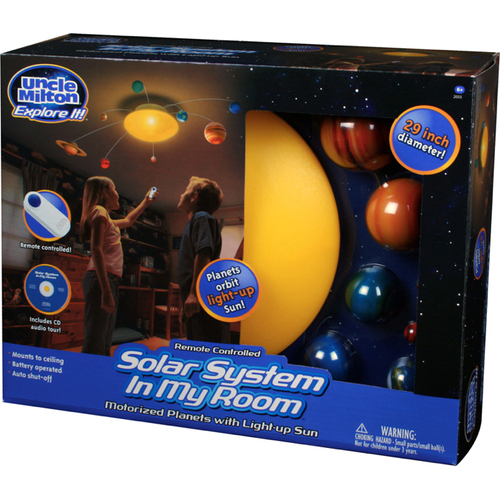 Uncle Milton Industries 2055 Solar System In My Room