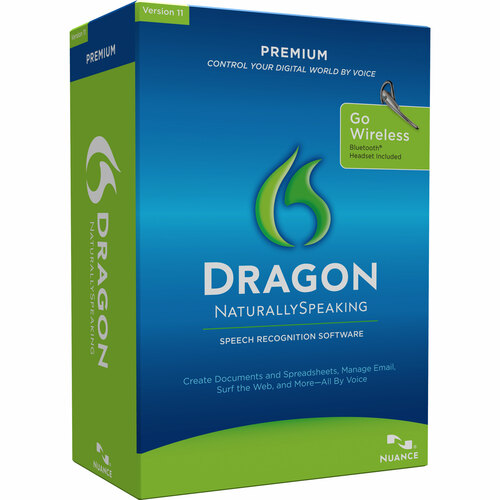 Nuance Dragon NaturallySpeaking v.11.0 Premium With Bluetooth Headset - Complete Product - 1 User