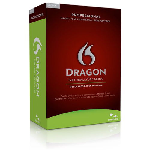 Nuance Dragon NaturallySpeaking v.11.0 Professional - Version Upgrade Package - 1 User
