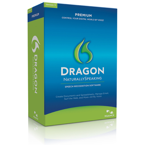 Nuance Communications, Inc. Dragon NaturallySpeaking v.11.0 Premium With Headset - Complete Product - 1 User