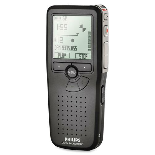 Philips LFH9375 2GB Digital Voice Recorder