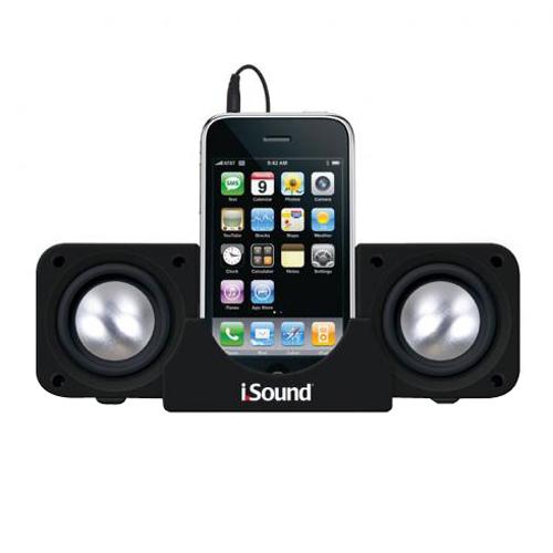 dreamGEAR DGIPOD-1559 2.0 Speaker System - Black