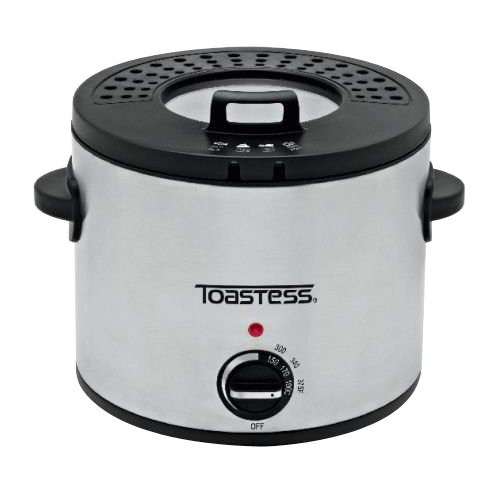 Toastess International TDF639 Round Deep Fryer