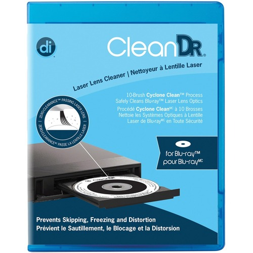 Digital Innovations CleanDr 4190300 Blu-ray Laser Lens Cleaner