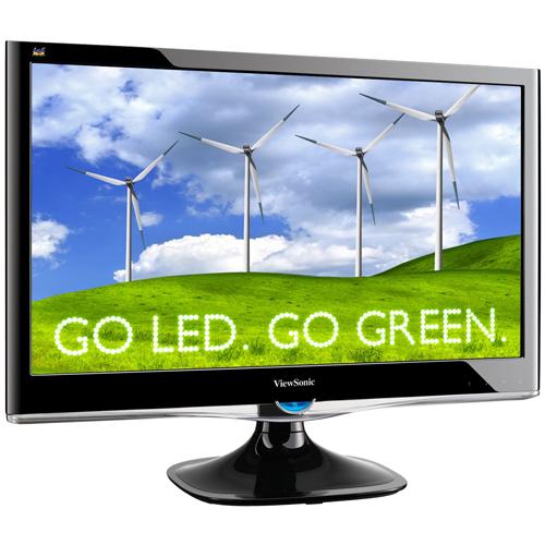 "Viewsonic VX2450wm-LED 24"" 1920 x 1080 20000000:1 Widescreen LED Monitor"
