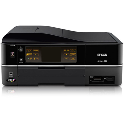 Epson Artisan 835 Inkjet Multifunction Printer - Color - Photo Print - Desktop