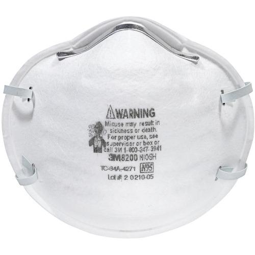 3M N95 Particulate Respirator 8200 Mask 20 per box