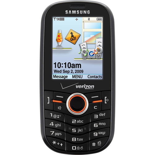 Samsung Intensity SCH-u460 Cellular Phone - Slide - Gray