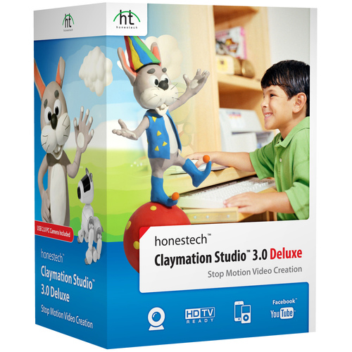 Honest Technology Claymation Studio 3.0 Deluxe