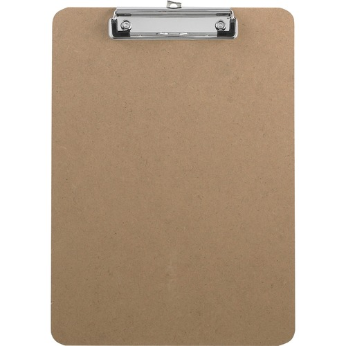 Bus. Source Flat Clip Hardboard Clipboard | by Plexsupply