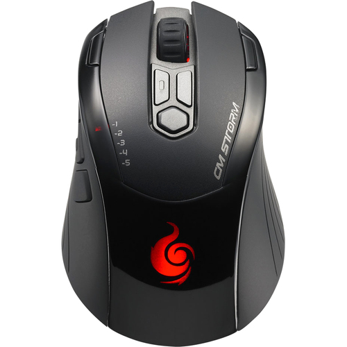 Cooler Master Inferno Mouse - Laser Wired - Black Gray