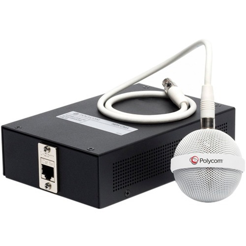 Poly 2200-23810-002 Wired Microphone - White_subImage_1
