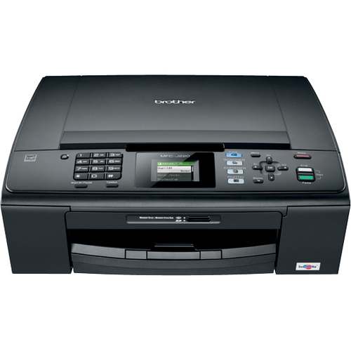 Brother MFC-J220 Inkjet Multifunction Printer - Color - Plain Paper Print - Desktop
