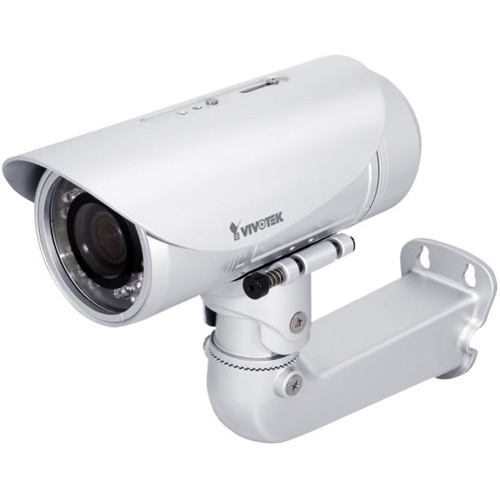 4xem Corp IP7361 CMOS Bullet-Style Outddor Day/Night 3x Optical Zoom 1600 x 1200 Surveillance Network Camera