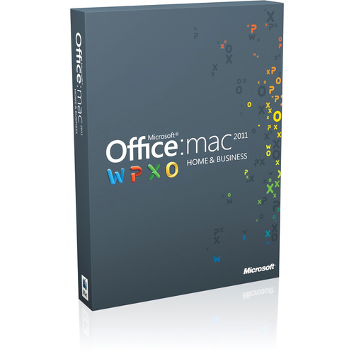 Microsoft Office 2011 Home and Business - 1 Install