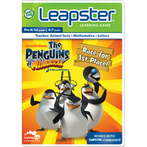 LeapFrog Leapster 30798 Penguins of Madagascar Game